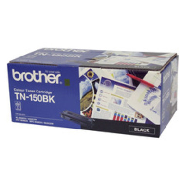 Brother TN-150BK Black Toner Cartridge