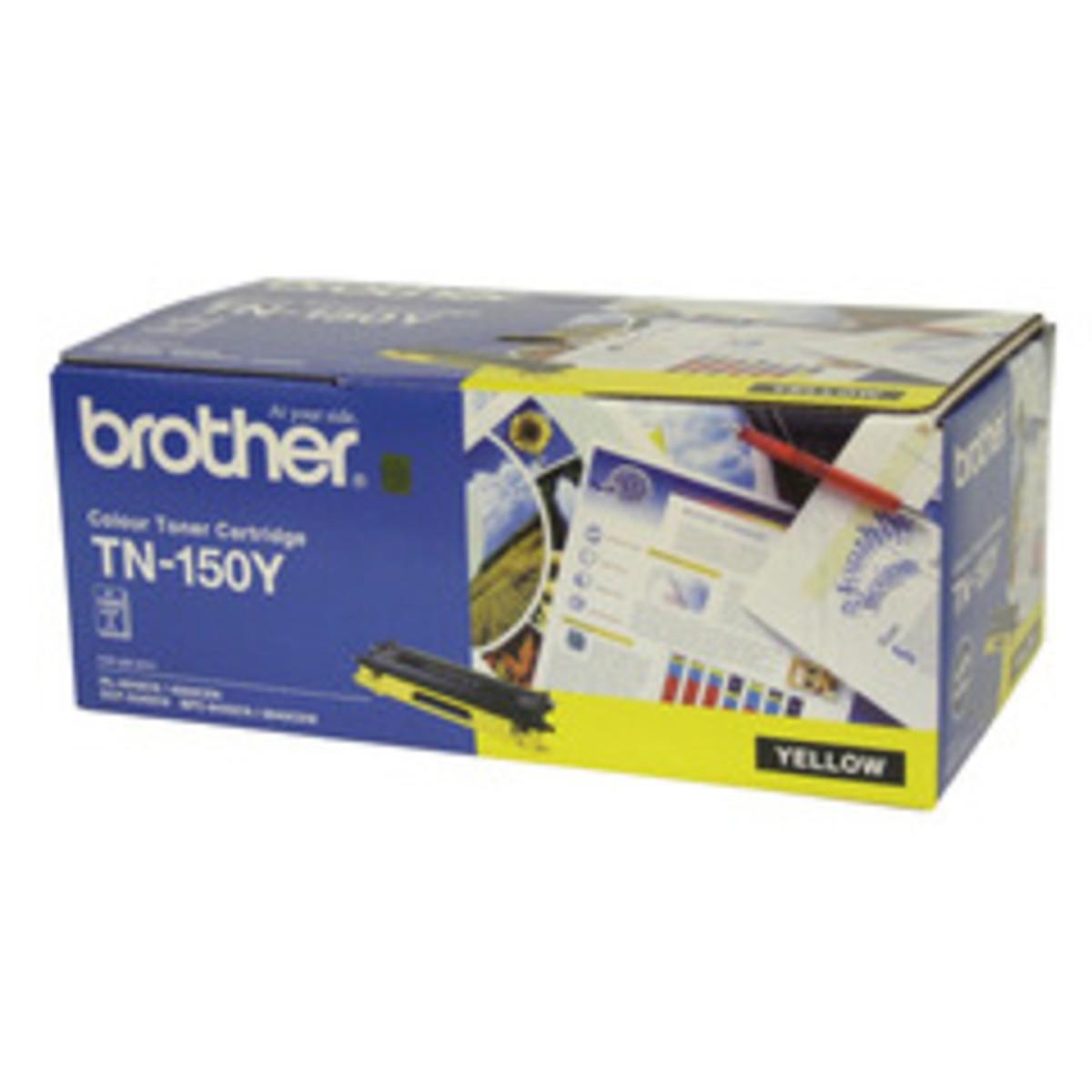 Brother TN-150Y Yellow Toner Cartridge