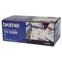 Brother TN-155BK Black Toner Cartridge