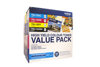 Brother TN-155 Colour Toner Cartridges - Value Pack
