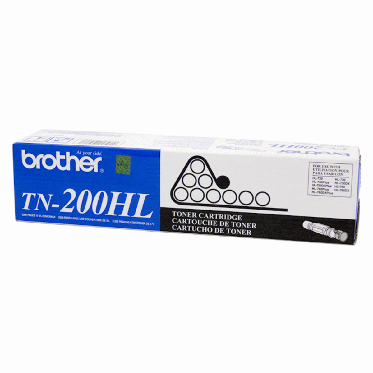 Brother TN-200 Black Toner Cartridge