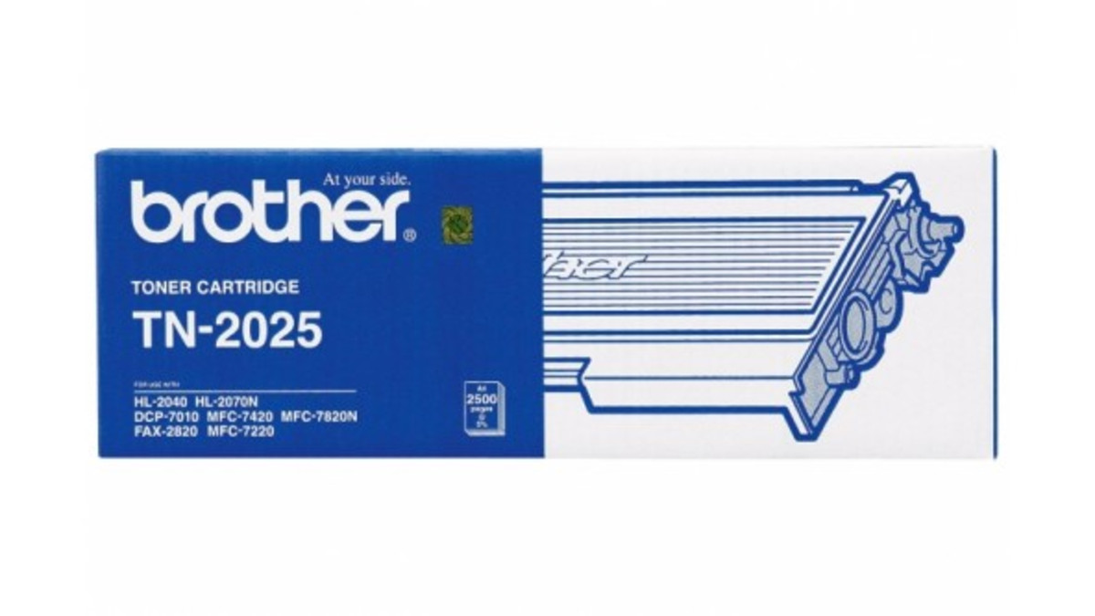 Brother TN-2025 Black Toner Cartridge