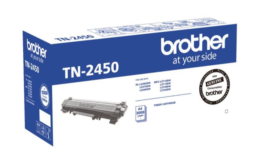 Brother TN2450 Black Toner Cartridge (Original)