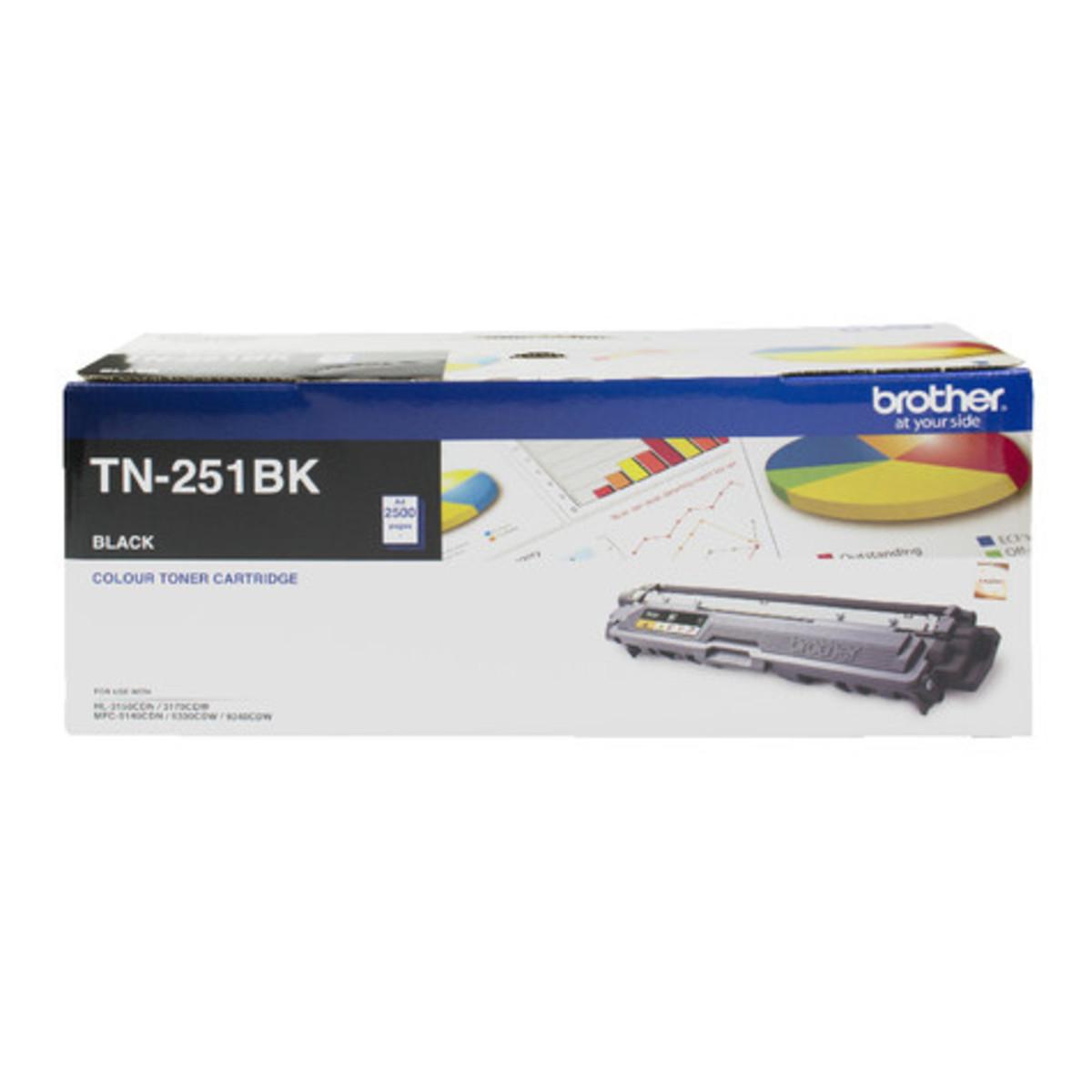 Brother TN-251BK Black Toner Cartridge