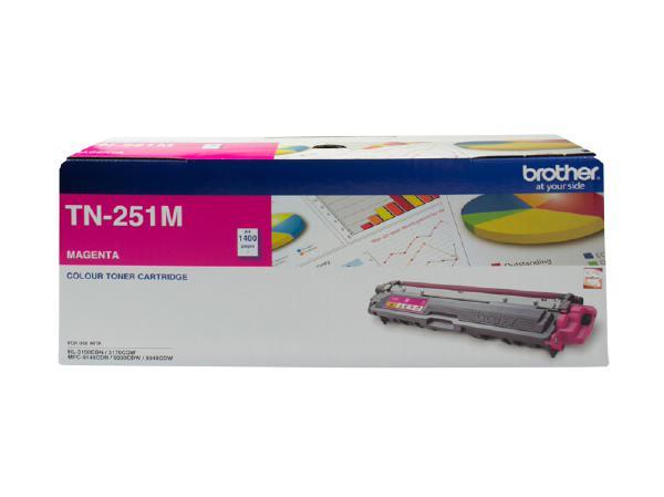 Brother TN251 Magenta Toner Cartridge (Original)
