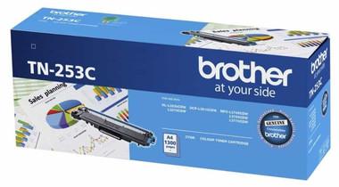 Brother TN253 Cyan Toner Cartridge (Original)
