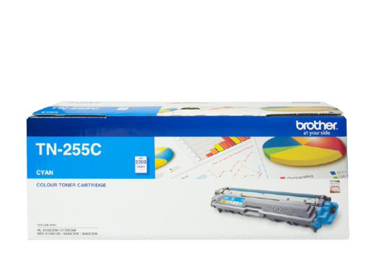 Brother TN-255C Cyan Toner Cartridge