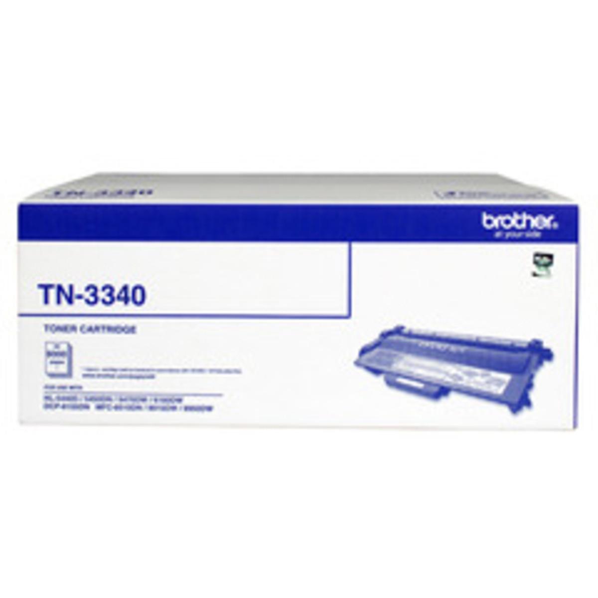 Brother TN-3340 Black Toner Cartridge