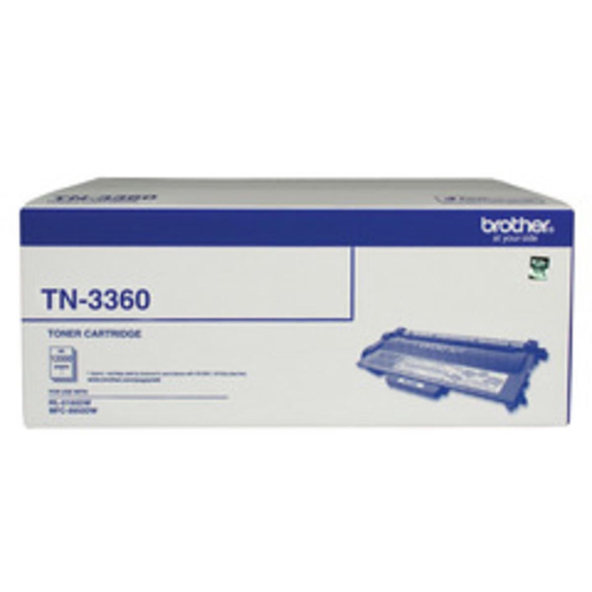 Brother TN-3360 Black Toner Cartridge