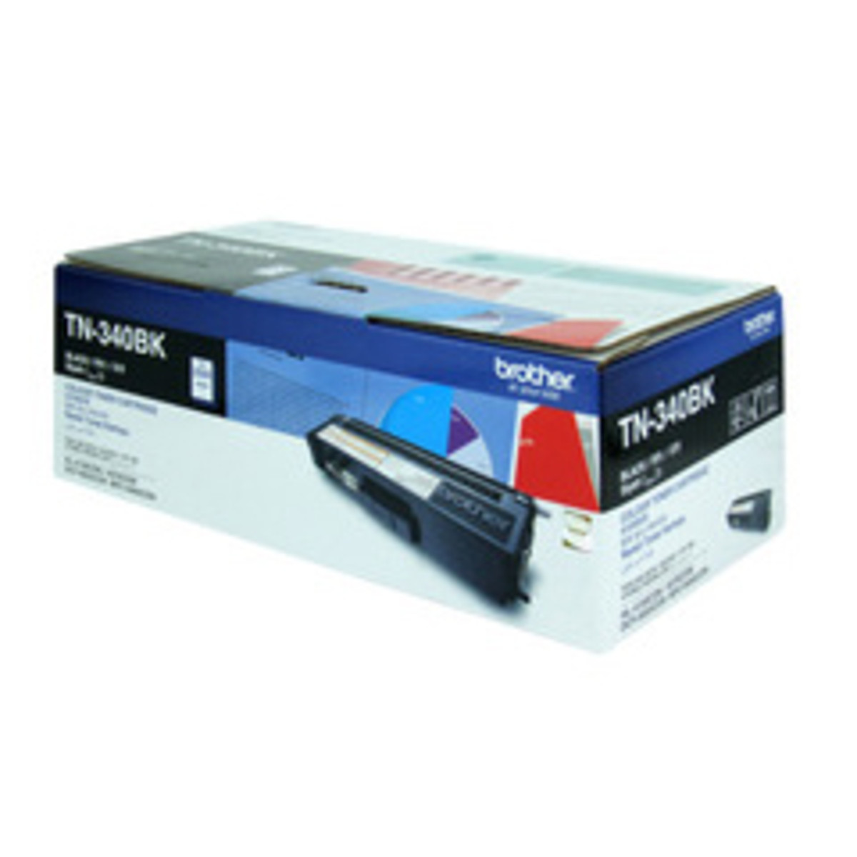Brother TN-340BK Black Toner Cartridge