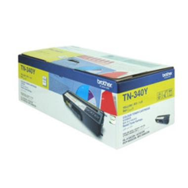Brother TN340 Yellow Toner Cartridge (Original)