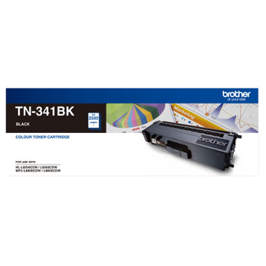 Brother TN-341BK Black Toner Cartridge