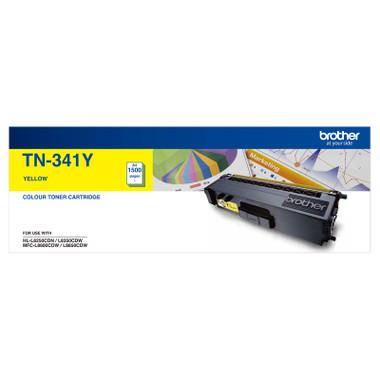 Brother TN-341Y Yellow Toner Cartridge