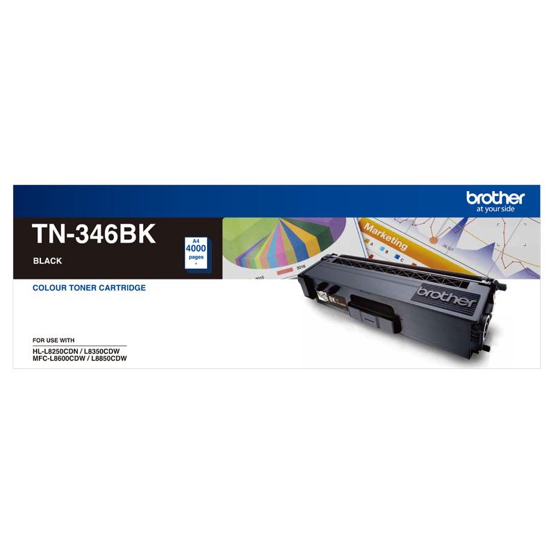 Brother TN346 Black Toner Cartridge (Original)