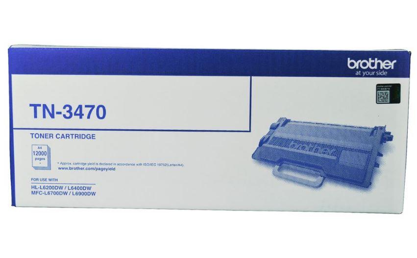 Brother TN3470 Black Toner Cartridge (Original)