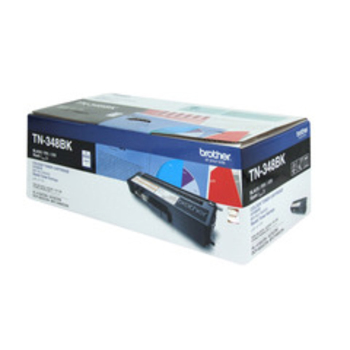 Brother TN-348BK Black Toner Cartridge