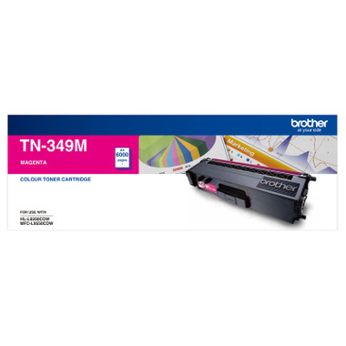 Brother TN349 Magenta Toner Cartridge (Original)