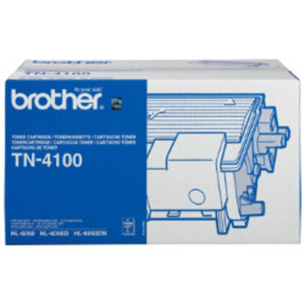 Brother TN-4100 Black Toner Cartridge