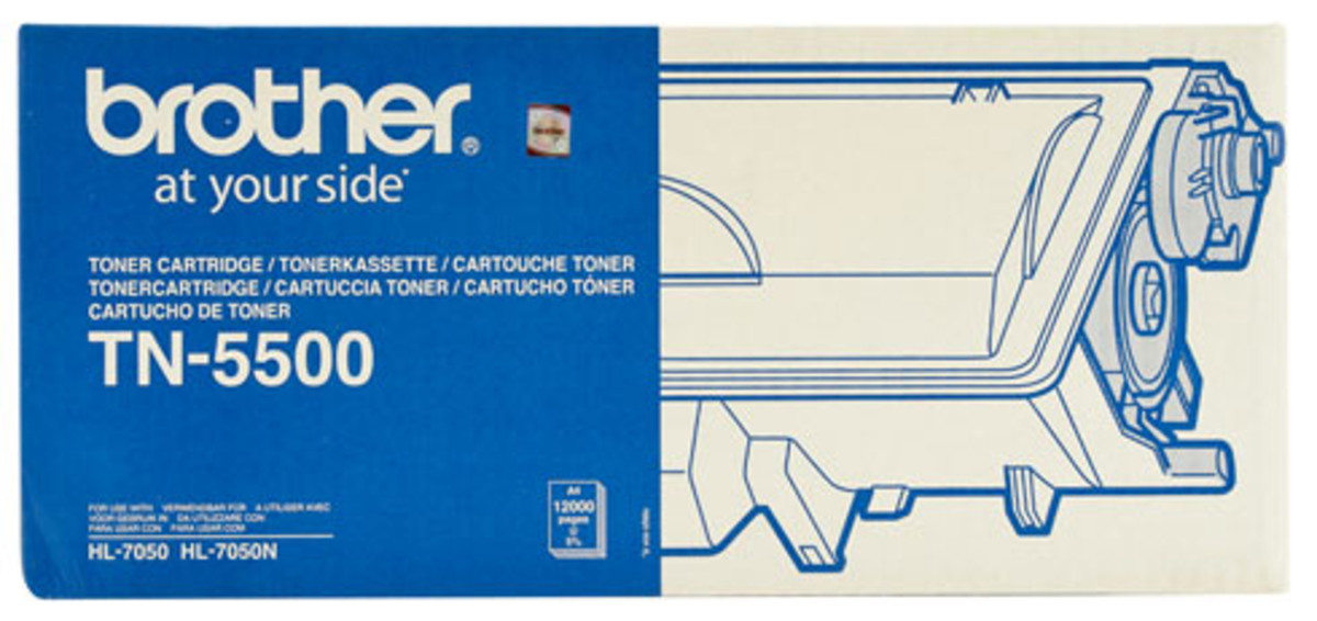 Brother TN-5500 Black Toner Cartridge