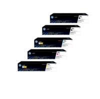 HP 119A Toner Cartridges Value Pack - Includes: [2 x Black, 1 x Cyan, Magenta, Yellow]
