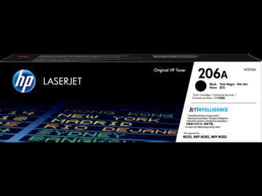HP 206A (W2110A) Black Toner Cartridge