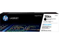 HP 206A (W2110A) Black Toner Cartridge