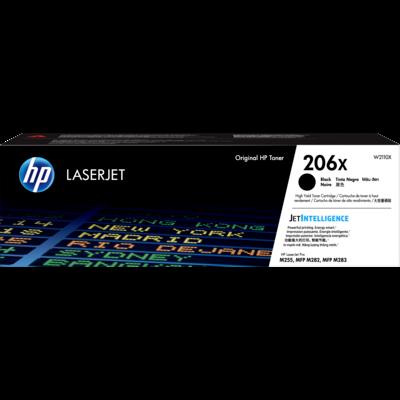 HP 206X Black Toner Cartridge (Original)