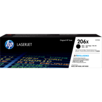 HP 206X (W2110X) Black Toner Cartridge