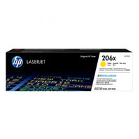 HP 206X (W2112X) Yellow Toner Cartridge