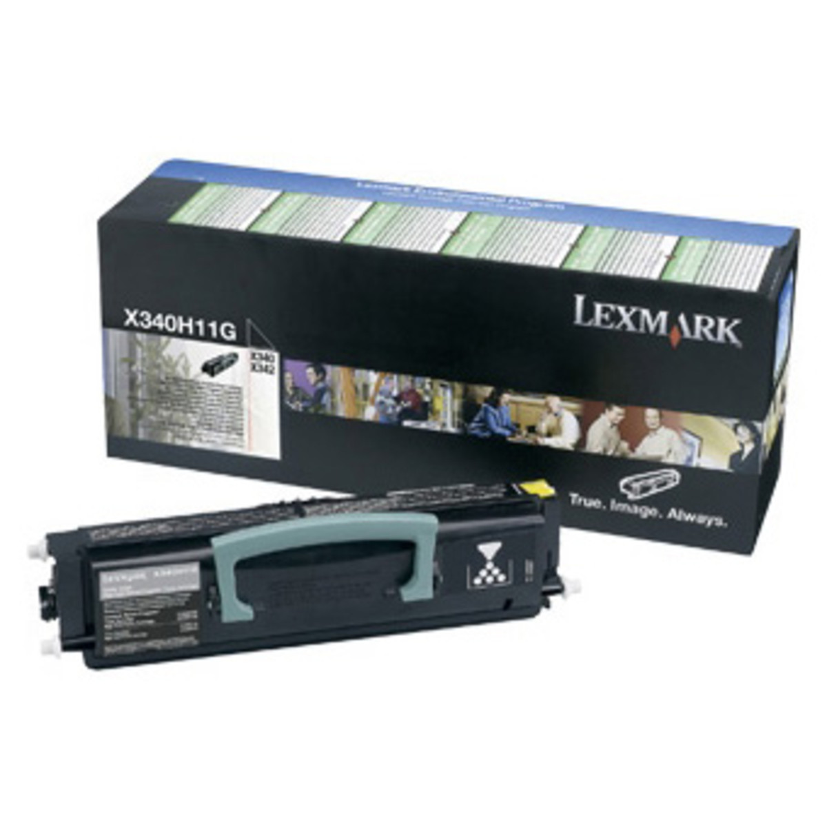 Lexmark X340H11G Black Prebate Toner Cartridge