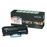 Lexmark X463X11G Black Toner Cartridge
