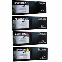 Lexmark X560 High Yield Bundle Pack