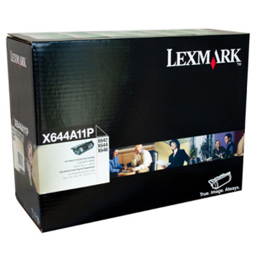 Lexmark X644A11P Black Toner Cartridge