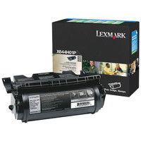 Lexmark X644H01P Black Toner Cartridge