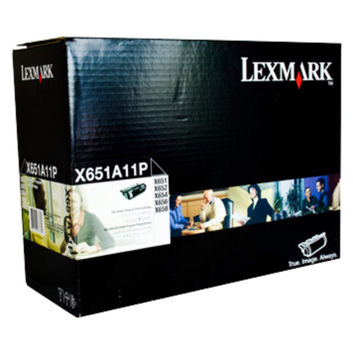 Lexmark X651A11P Black Toner Cartridge