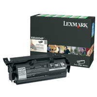 Lexmark X654X04P Black Toner Cartridge