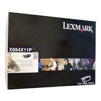 Lexmark X654X11P Black Prebate Toner Cartridge