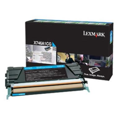 Lexmark X746A1CG Cyan Toner Cartridge
