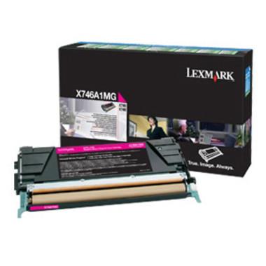 Lexmark X746A1MG Magenta Toner Cartridge