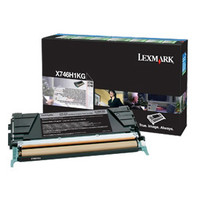 Lexmark X746H1KG Black Toner Cartridge