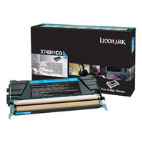 Lexmark X748 Cyan Toner Cartridge (Original)