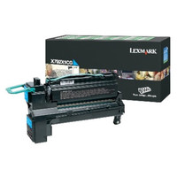 Lexmark X792X1CG Cyan Toner Cartridge - High Yield