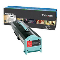 Lexmark X850H21G Black Prebate Toner Cartridge
