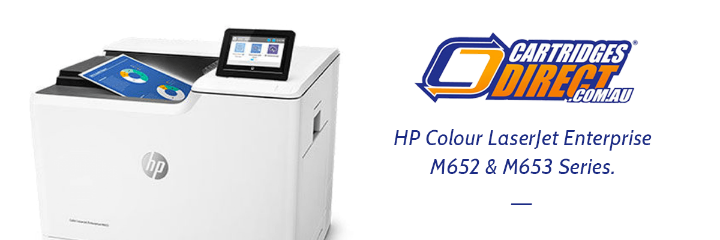 Colour Printing Without Compromise - HP Colour LaserJet Enterprise M652 And M653 Series.