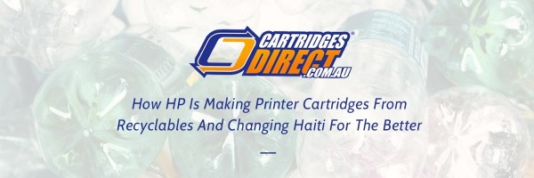 How Recycling Printer Cartridges Is A Humanitarian And Environmental Benefit.
