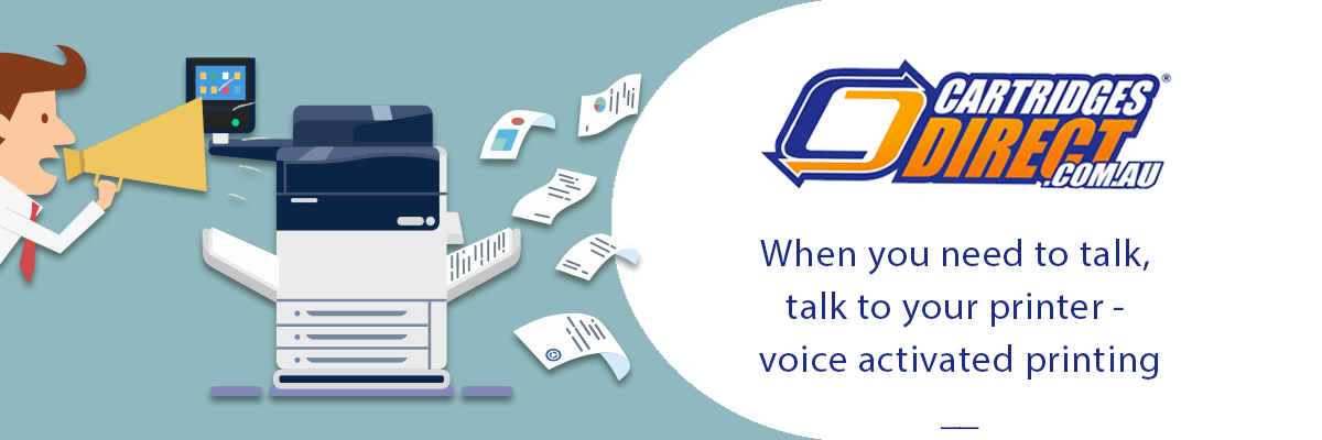 When You Need To Talk, Talk To Your Printer - Voice Activated Printing