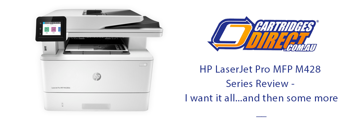 HP LaserJet Pro MFP M428 Series Review