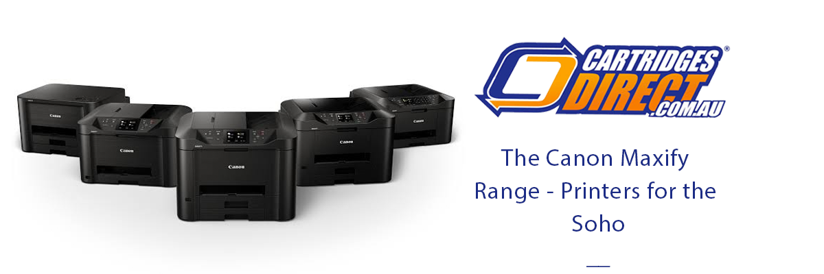 Canon Maxify Range Review - Printers For The SOHO