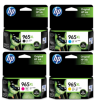 HP 965, 965XL ink cartridges