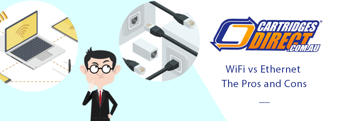 WiFi vs Ethernet the Pros and Cons